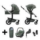 Joolz 2 In 1 Kinderwagen Day+ Marvellous Green + Maxi Cosi Autostoel + Adapterset + Base + Voetenzak