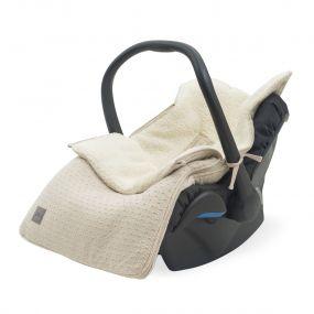 Jollein Voetenzak Groep 0+ Autostoel 3/5 Punts Bliss Knit Nougat