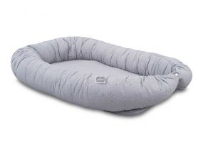 Jollein Babynest Mini Dots Mist Grey