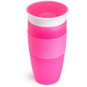 Munchkin Drinkbeker Miracle Sippy Cup Big 414ml Roze