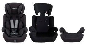 Cabino Autostoel 9-36 kg Zwart - Grijs