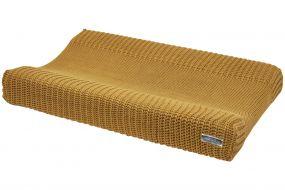 Meyco Aankleedkussenhoes Herringbone Honey Gold