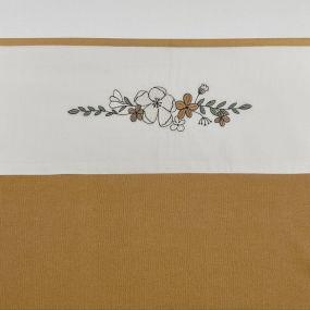 Meyco Ledikantlaken Floral 100x150