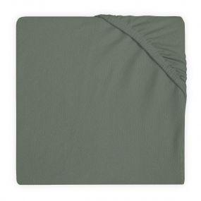 Jollein Hoeslaken Boxmatras 75 x 95 cm Ash Green