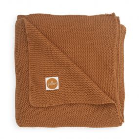 Jollein Deken Ledikant 100 x 150 cm Basic Knit Caramel