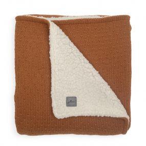 Jollein Teddy Deken Ledikant 100 x 150 cm Bliss Knit Caramel