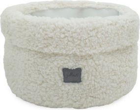 Jollein Basket Teddy Cream White