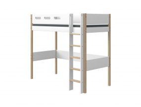 Flexa Nor Hoogslaper Met Rechte Ladder 90 x 200 cm