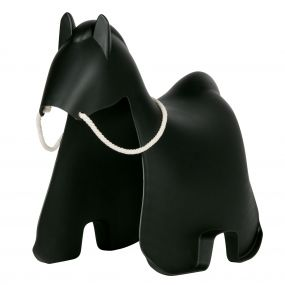 Woood Paard Meia Zwart
