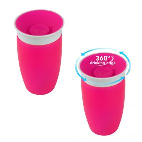 Munchkin Miracle Sippy Cup 360° Beker Roze
