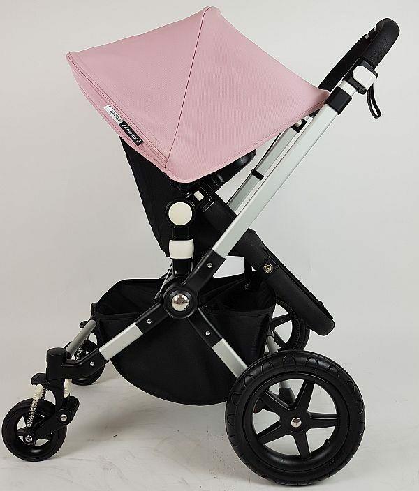 Bugaboo Cameleon3 Alu/Zwart - Soft Pink