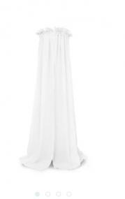 Jollein Sluier Vintage 155 cm White