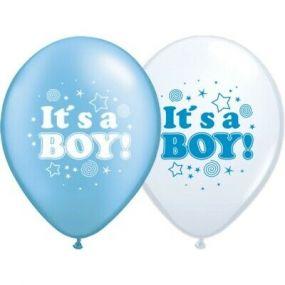 O'that Ballonnen Its a boy Blauw Confetti