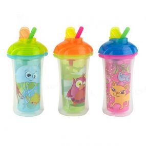 Munchkin Click Lock Insulated Flip Straw Cup