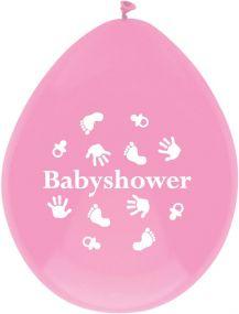 O'that Ballonnen Babyshower Pink