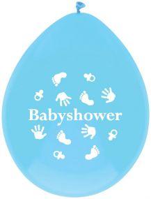 O'that Ballonnen Babyshower Blue