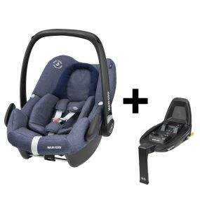 Maxi Cosi Autostoel Rock Sparkling Blue + Familyfix2 Base