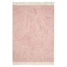 Little Dutch Vloerkleed Dot Pure Pink 170 x 120 cm