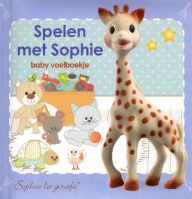Sophie de Giraf Voelboekje Spelen met Sophie
