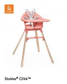 Stokke® Clikk™ Kinderstoel Sunny Coral