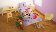 Minnie Mouse Shopping Tienerdekbedovertrek 140x200 cm