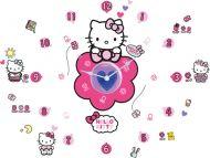 Hello Kitty Tick Tock Clock