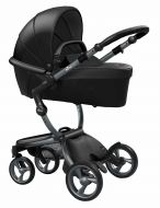 Mima Kinderwagen Xari Graphite Grey - Black
