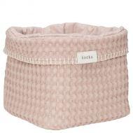 Koeka Commodemandje Wafel Antwerp Grey Pink