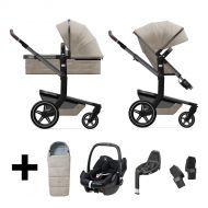 Joolz 2 In 1 Kinderwagen Day+ Timeless Taupe + Autostoel + Adapterset + Base + Voetenzak