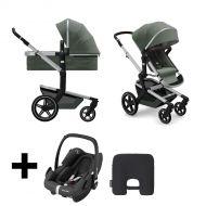 Joolz  2 in 1 Kinderwagen Day + Marvellous Green + Maxi Cosi Autostoel Black + Maxi Cosi E safety Cushion