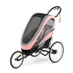 Cybex Zeno Multisport Kinderwagen Silver Pink