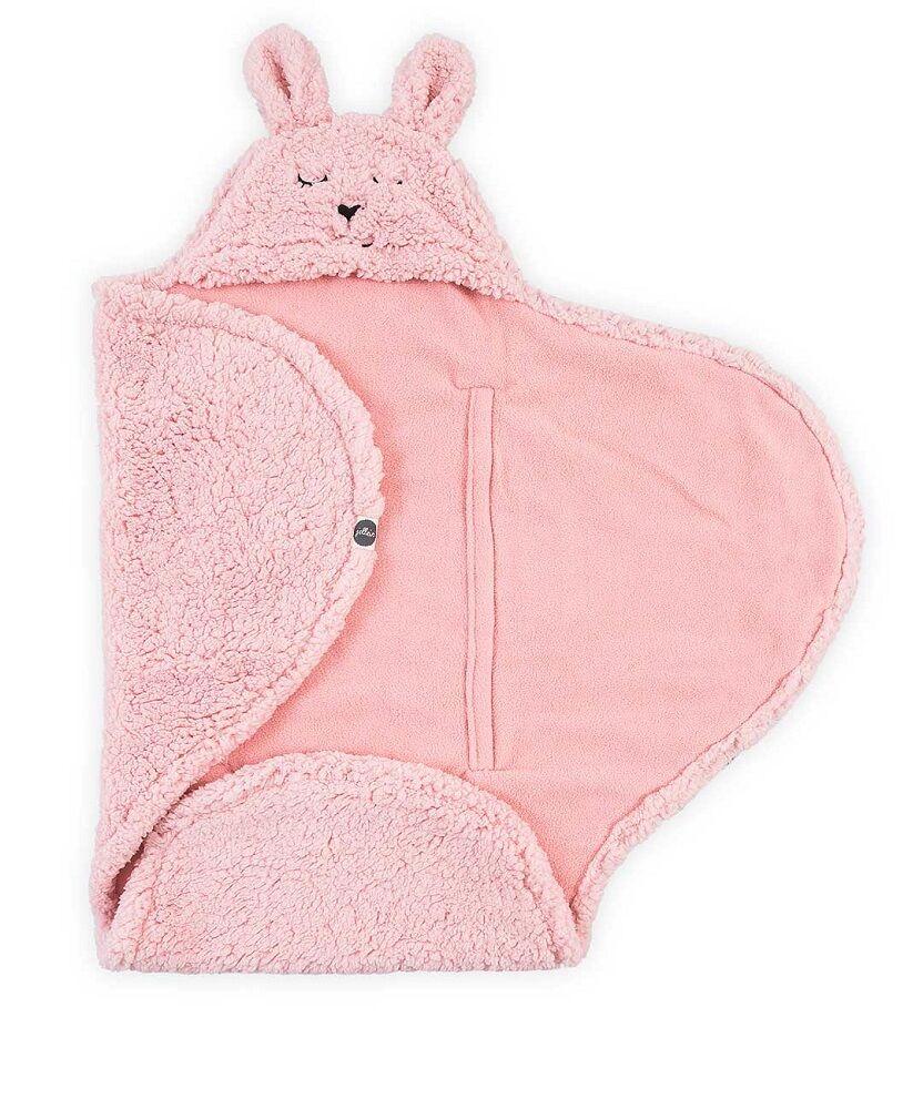 Jollein Wikkeldeken Bunny Pink 100 x 105 cm