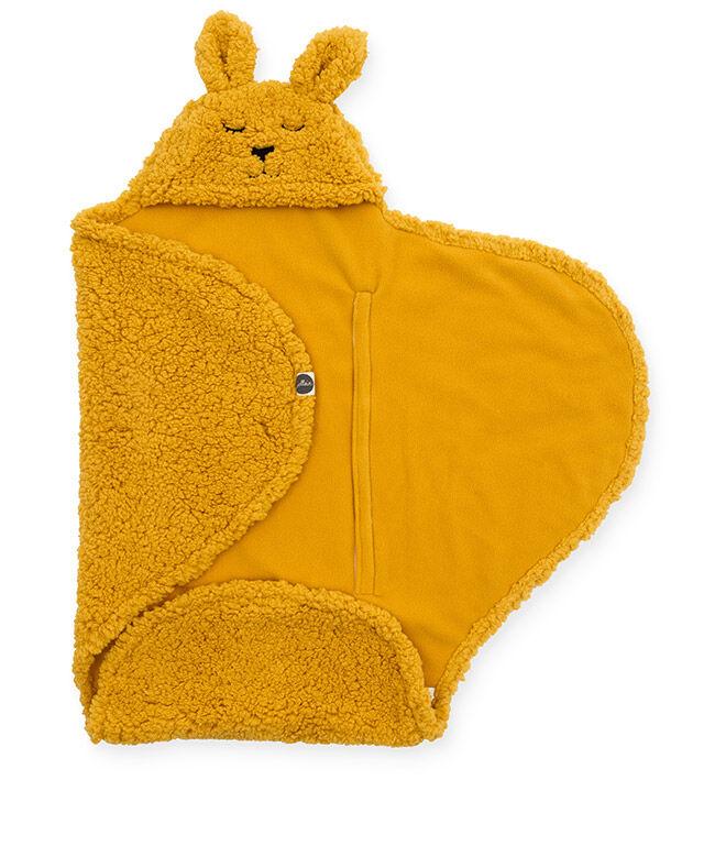 Jollein Wikkeldeken Bunny Mustard 100 x 105 cm