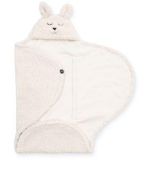 Jollein Wikkeldeken Bunny Off White 100 x 105 cm