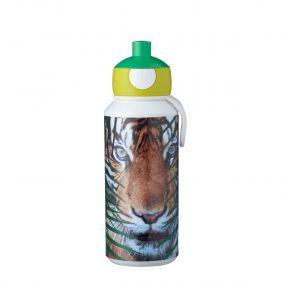Mepal Drinkfles Pop Up Campus Animal Planet Tijger 400 ml