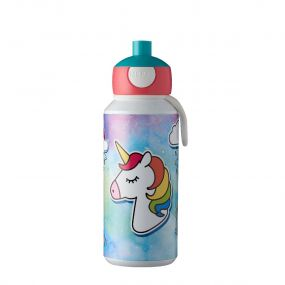 Mepal Drinkfles Pop Up Campus Unicorn 400 ml