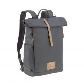 Lassig Backpack Rolltop Antraciet