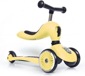 Scoot And Ride 2 In 1 Highwaykick Lemon