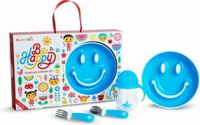 Munchkin Be Happy Dining Set Blauw