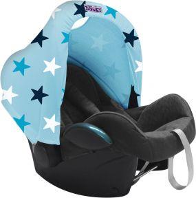Dooky Zonnekap Baby Blauw Ster