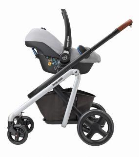 Maxi Cosi Kinderwagen Lila Oria Rock 3 in 1 Nomad Grey