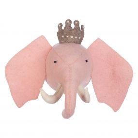 Kidsdepot Dierenkop Princess Elephant