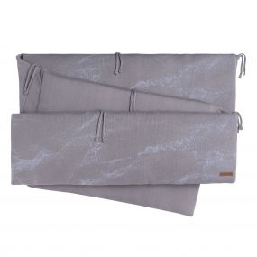 Baby's Only Boxbumper Marble - Cool Grey