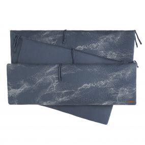 Baby's Only Boxbumper Marble - Granit Grey