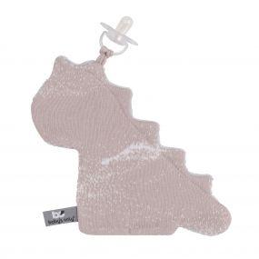 Baby's Only Speendoekje Dino Marble - Old Pink