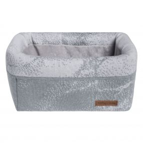 Baby's Only Commodemandje Marble - Silver Grey