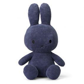 Nijntje Knuffel Corduroy Dark Blue 50 cm