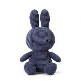 Nijntje Knuffel Corduroy Dark Blue 33 cm