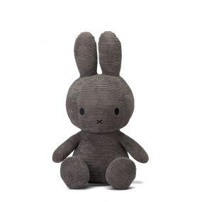 Nijntje Knuffel Corduroy Dark Grey 70 cm