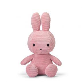 Nijntje Knuffel Corduroy Pink 70 cm